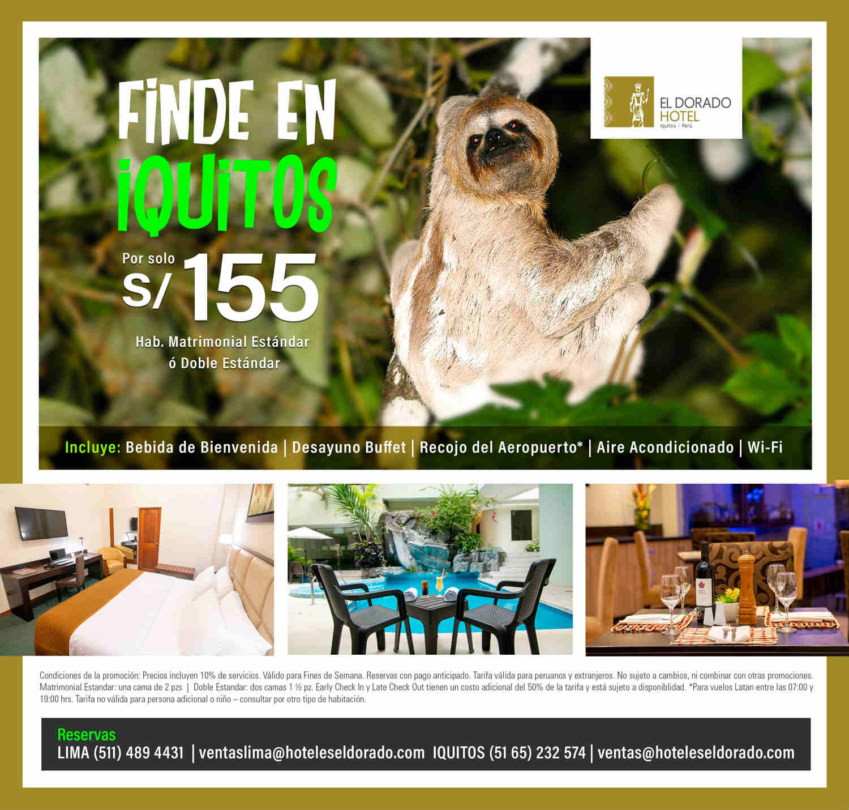FINDE en Iquitos – El Dorado Hotel
