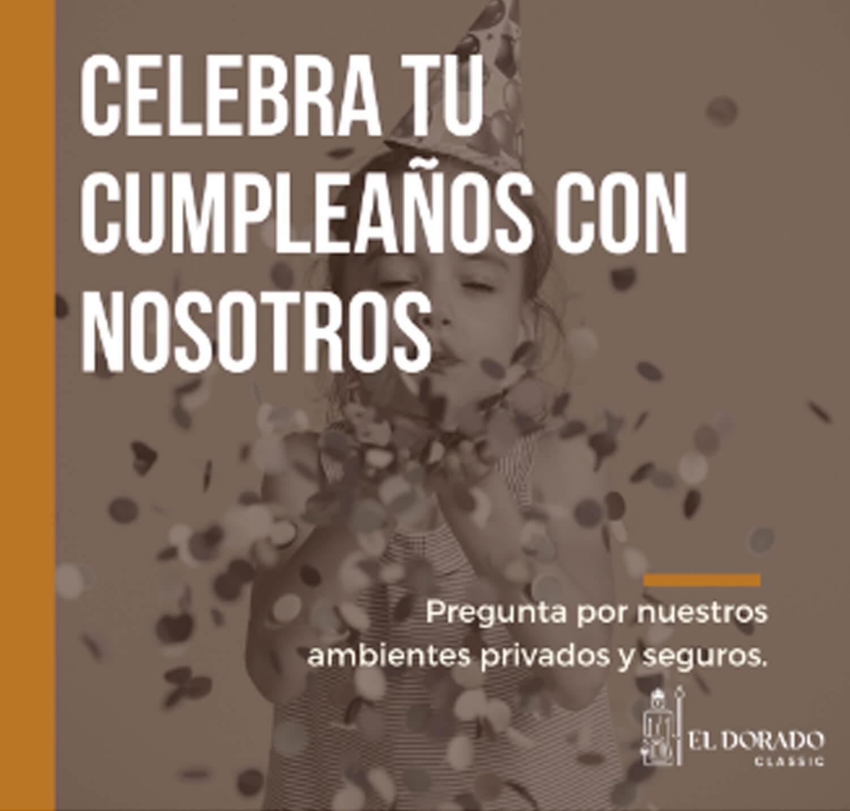 (Español) CELEBRA TU CUMPLE EN EL DORADO