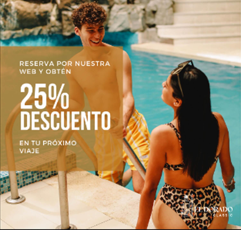 (Español) VÍA WEB, OBTÉN 25% DE DESCUENTO